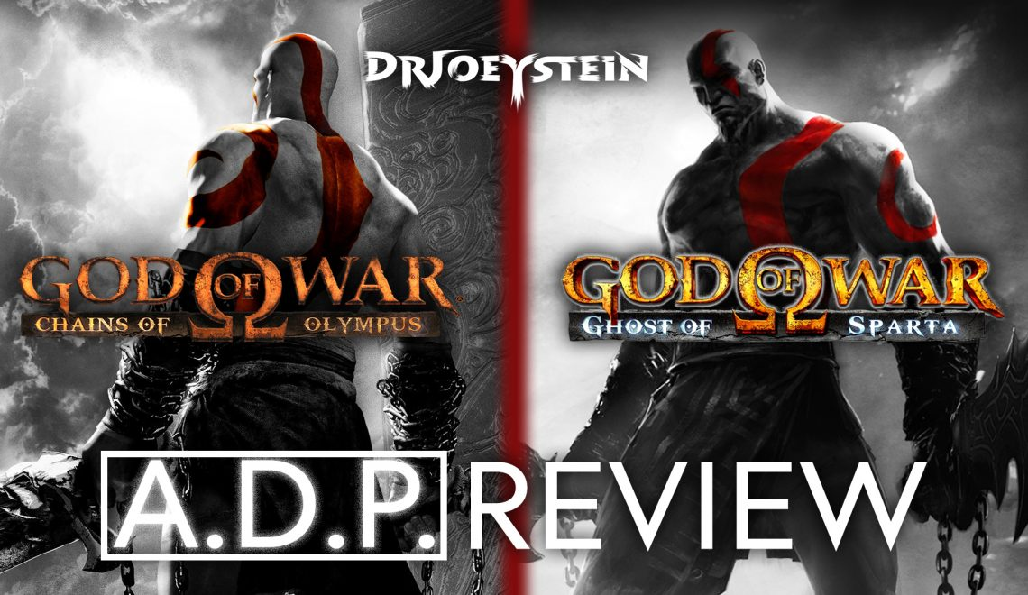 God Of War: Chains Of Olympus + Ghost Of Sparta – A.D.P. Review (+Video Review)