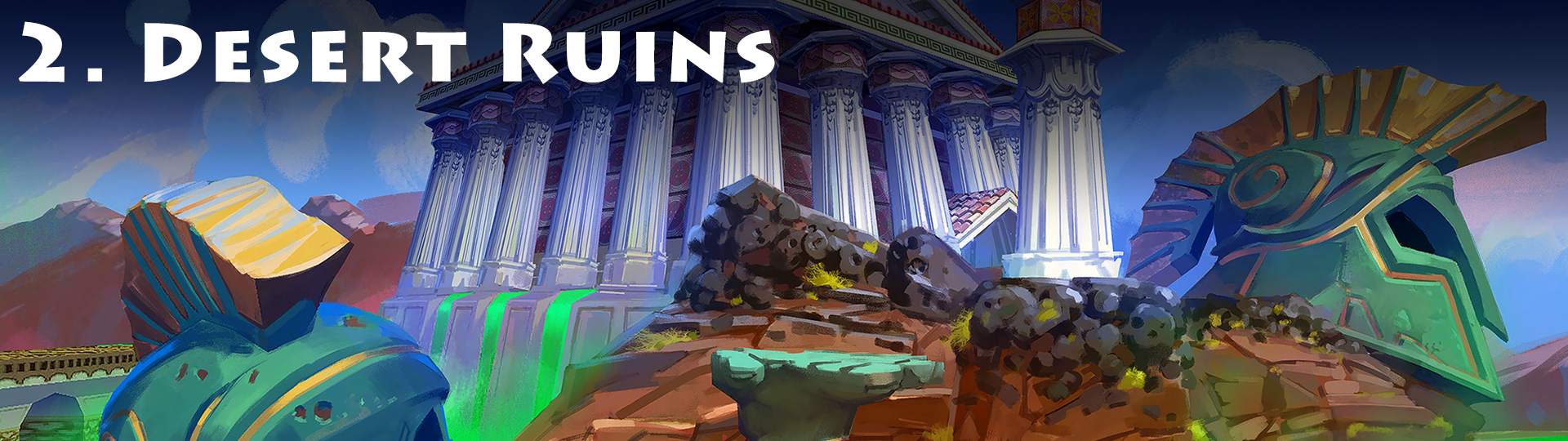 2. Desert Ruins